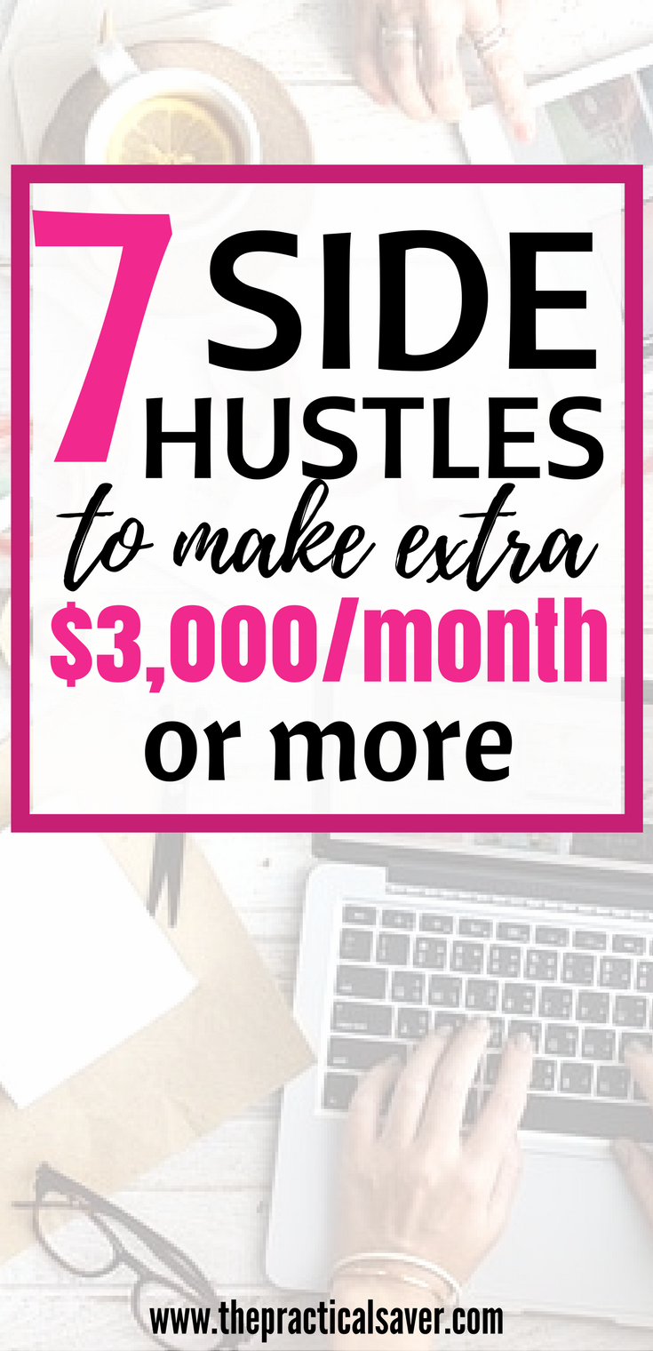side hustle ideas for extra cash l make money fast at home on the ...