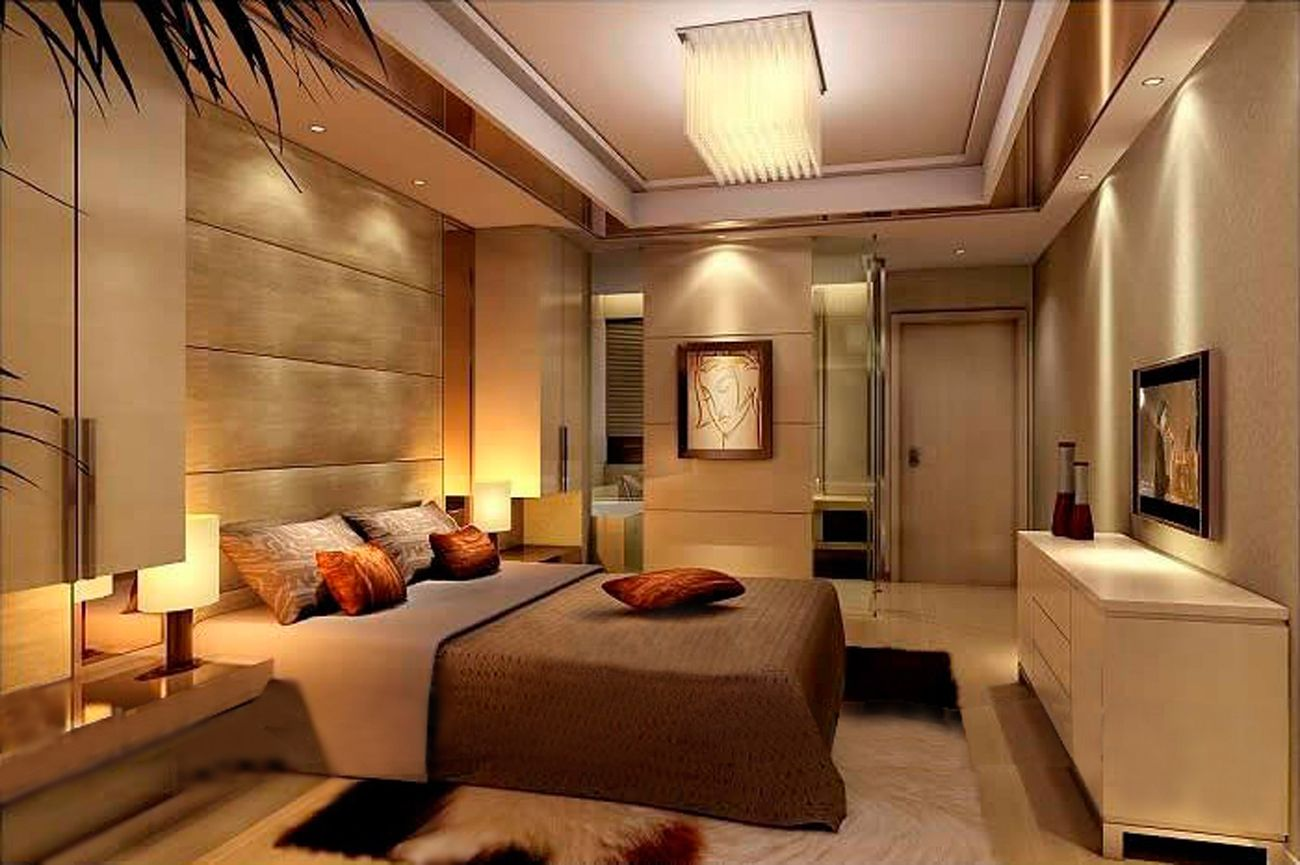 Luxury Bedrooms Design Ideas Part - 40: 9 Luxury Bedroom Lights Decorations