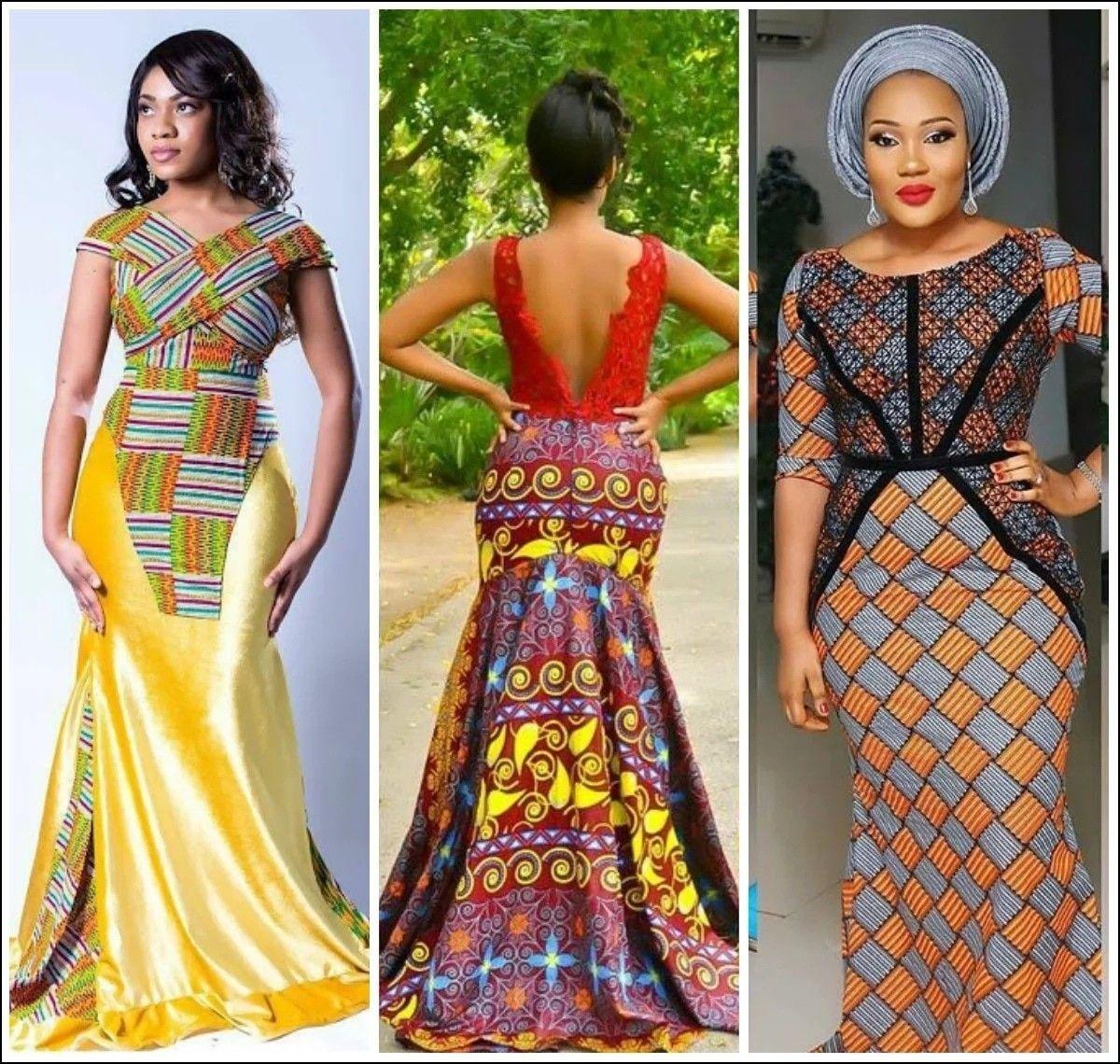 Nigerian native gowns yonon in pinterest ankara styles