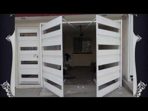 Porton automatico plegadizo youtube puerta de entrada for Hojas plegables