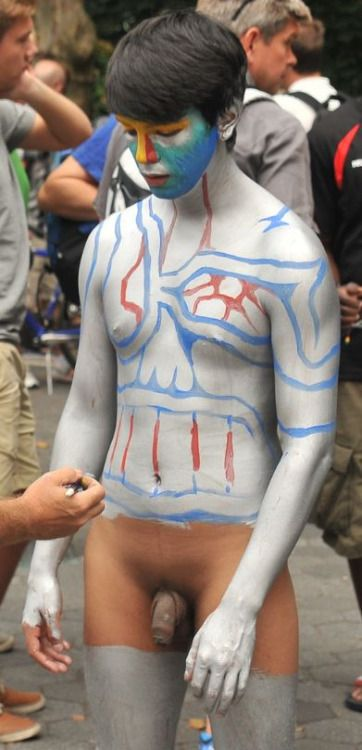 Nude Men Halloween Can Be A Real Fun Time, Peculiarly When You Have