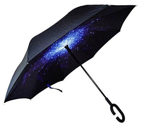 Mom Hair Dont Care Automatic Open Folding Compact Travel Umbrellas For Women
