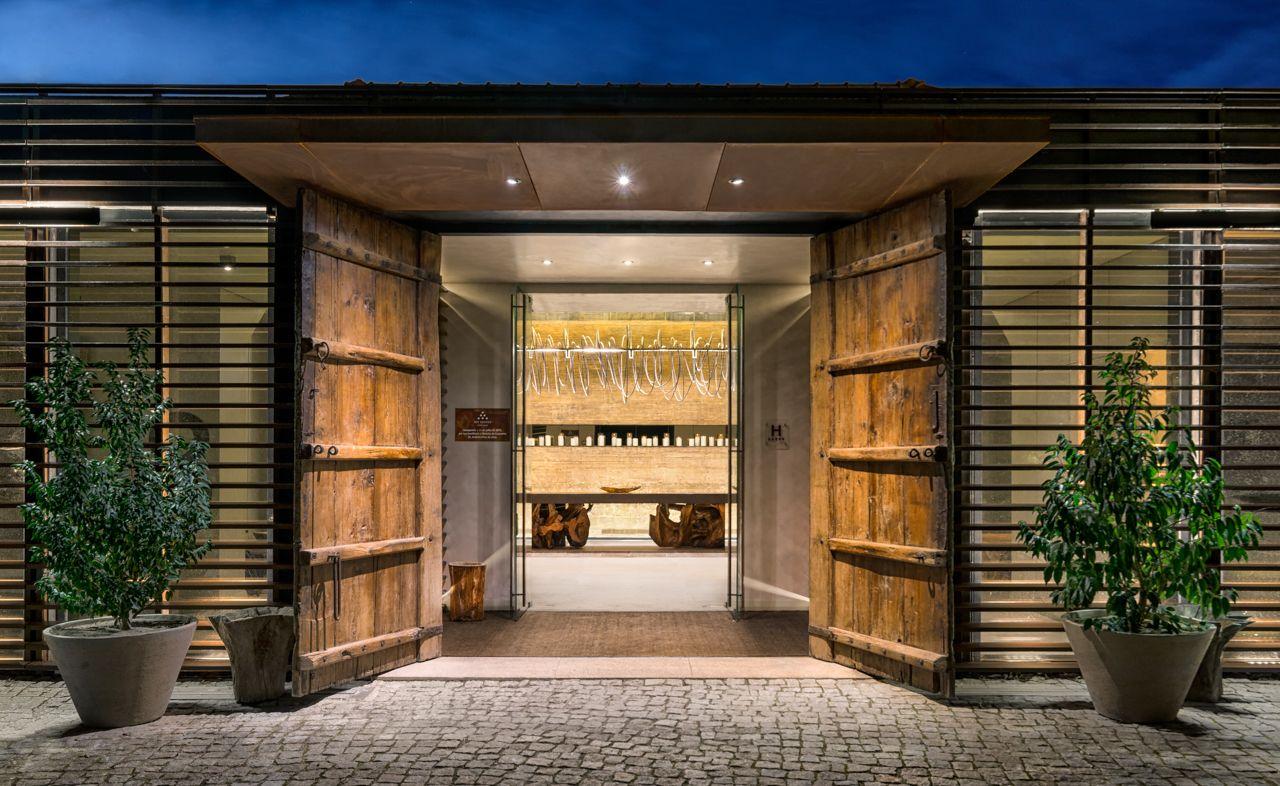 Six Senses Douro Valley Entrance