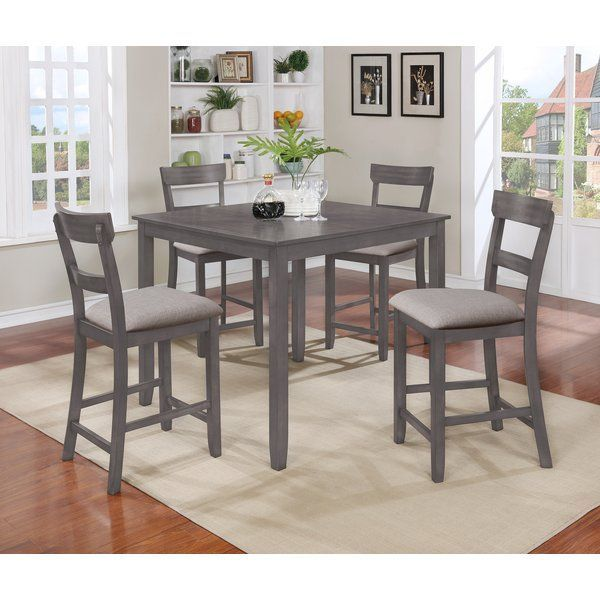 Crown Mark Henderson 5 Piece Counter Height Dining Set | Counter Height  Dining Sets, Pub Set And Dining Sets