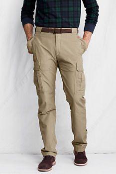 531940eed1 Men's Willis & Geiger Poplin Bush Cargo Pants from Lands' End ...