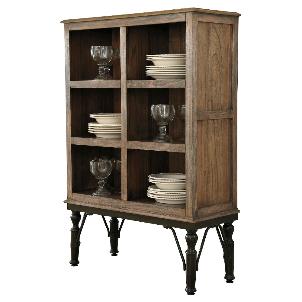 Tripton Dining Room Server Wood Medium Brown Signature Design By Ashley Antique Wood Dining Room Server Dining Room Storage Brown Dining Room
