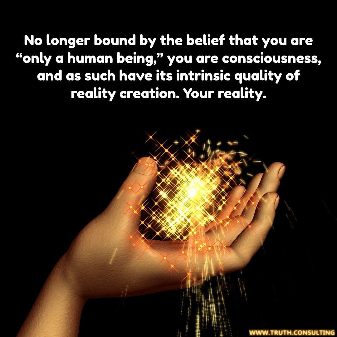 In Absolute Truth you are consciousness. To find out more ...