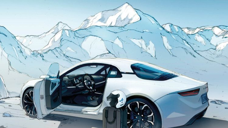 Scope out the new Alpine Vision, the concept that foreshadows Renault's rival to the Porsche Cayman and Alfa Romeo 4C coming from across the French Alps.