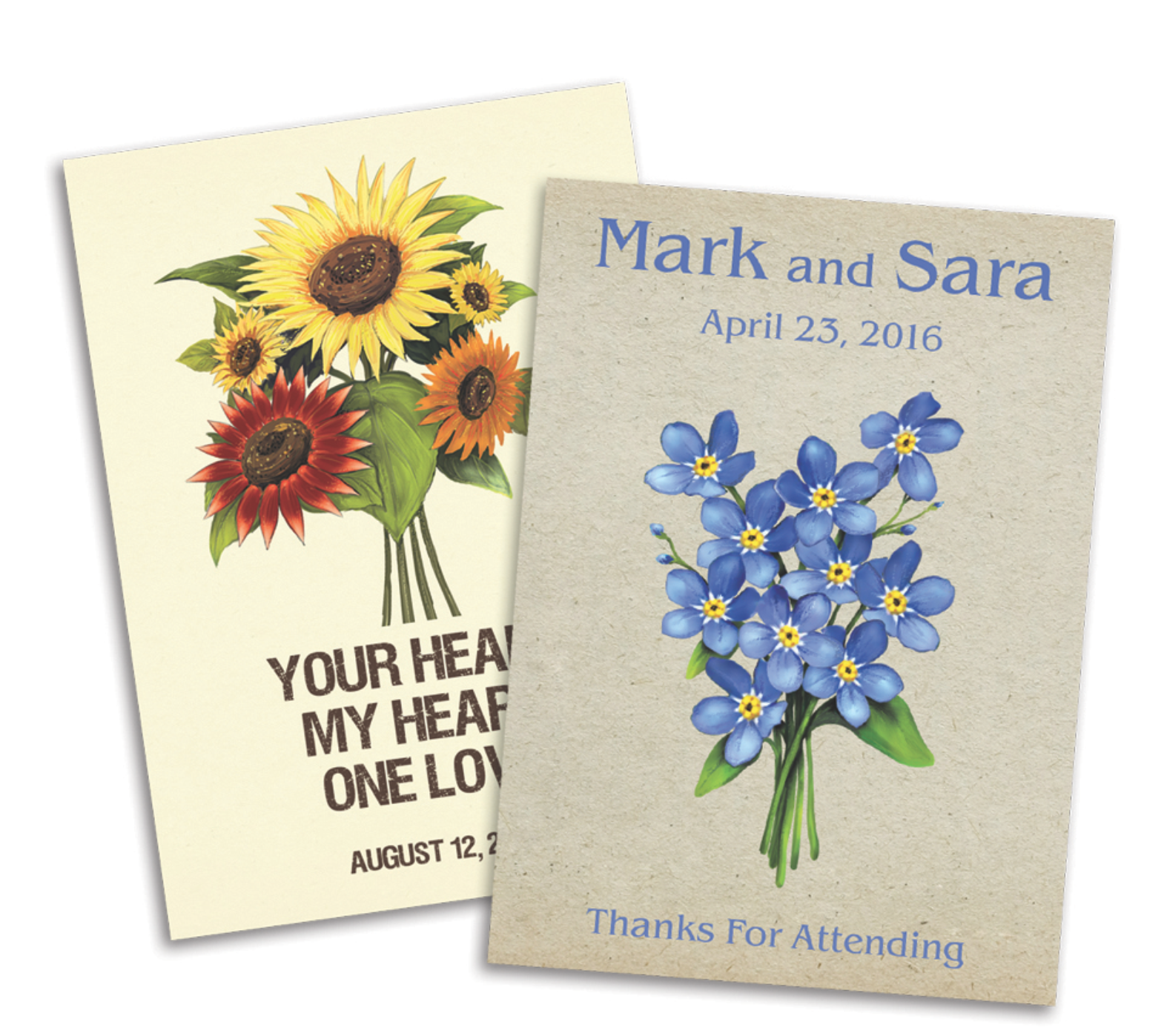 Customized Seed Packets by Seed Needs Personalize your