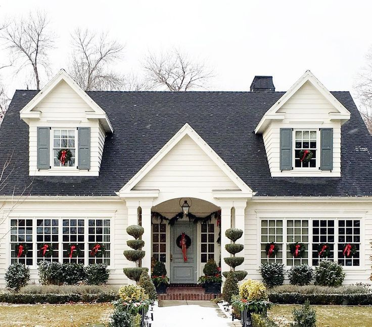 Decorating Ideas For Cape Cod Style House Part - 19: Drove By This Pretty House Today...Iu0027m Certain It Belongs On
