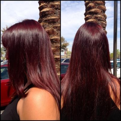 Image result for Revved RED hair trend