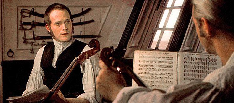 Master and commander cello scene master and commander