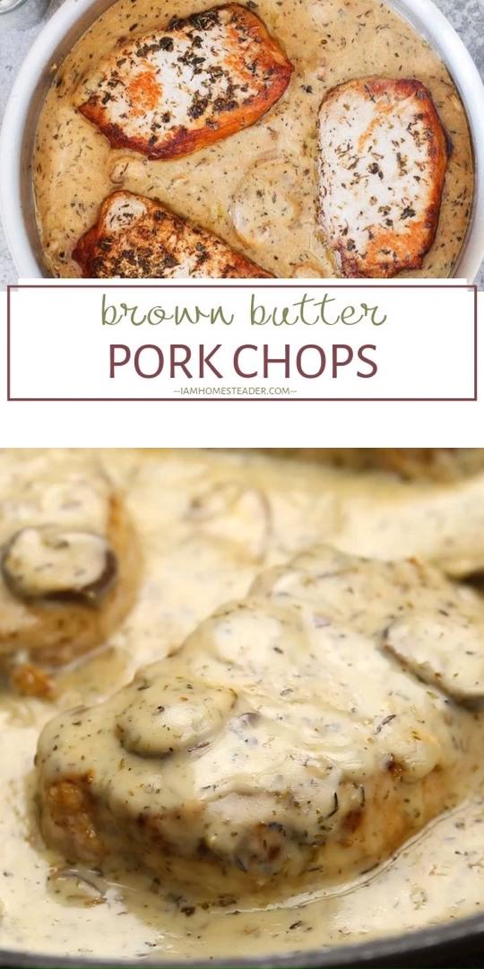 Photo of Brown Butter Pork Chops