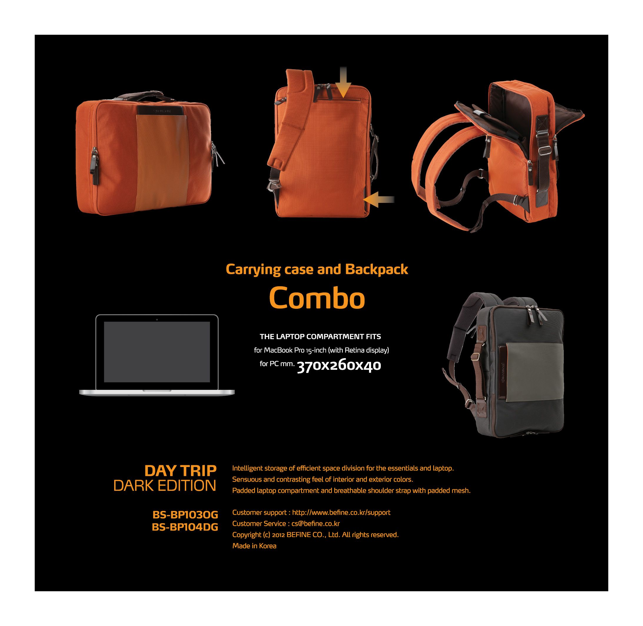 946d0899a7ad ... DAY TRIP DARK EDITION for MacBook Pro 15 (with Retina display) BACKPACK  DAY TRIP ...