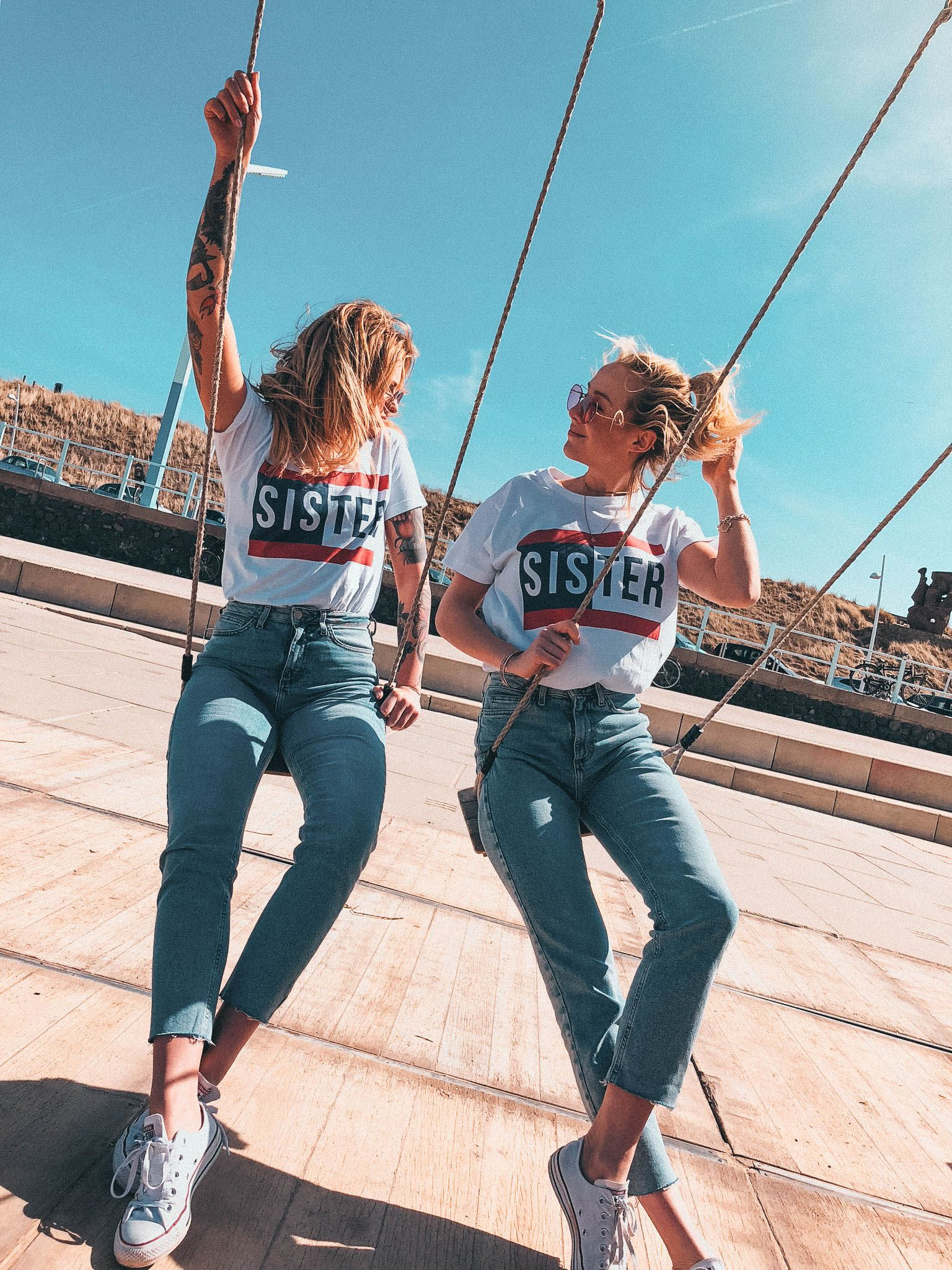bff, friendship goals, twinning, twinstyle fashion ...