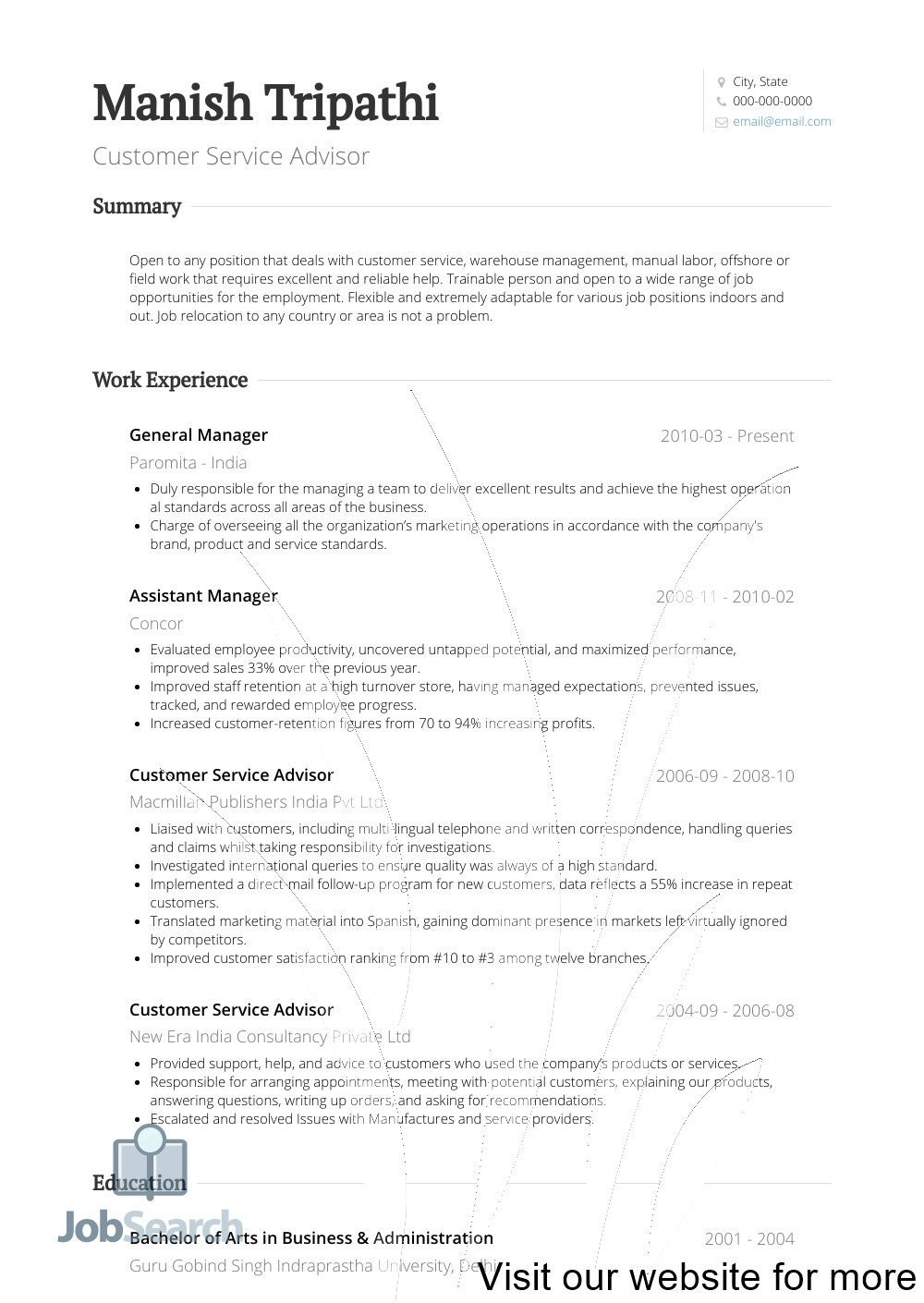 Summary Of Qualifications Resume Sample (With images