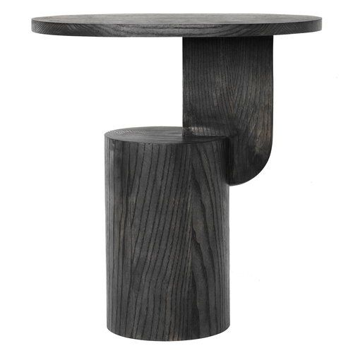 Ferm Living Insert Side Table Black Stained Ash Side Table Black Side Table Furniture Side Tables