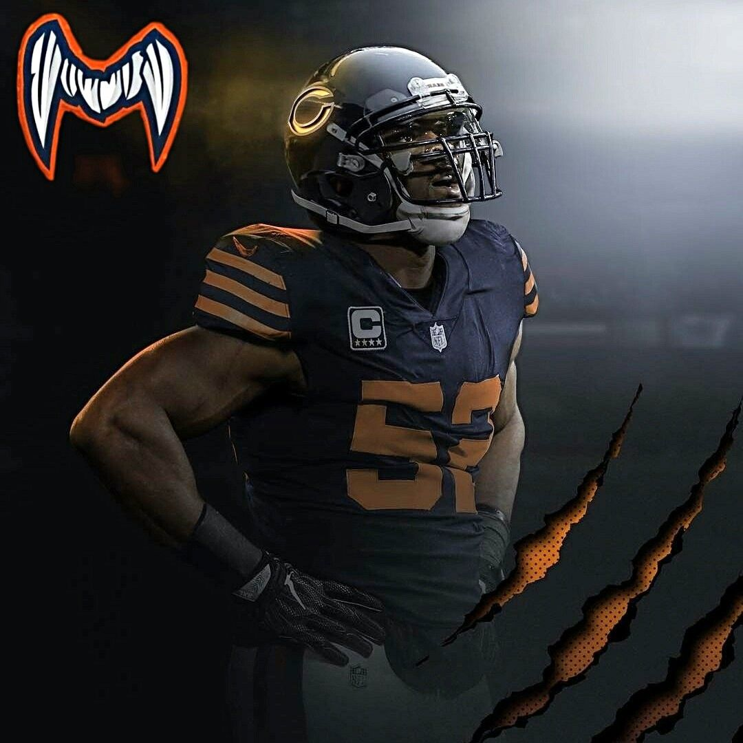 Khalil Mack Chicago Bears Football Chicago Sports Teams Chicago Bears