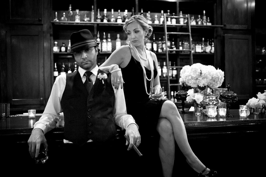 tons of awesome gangster photos wedding ideas