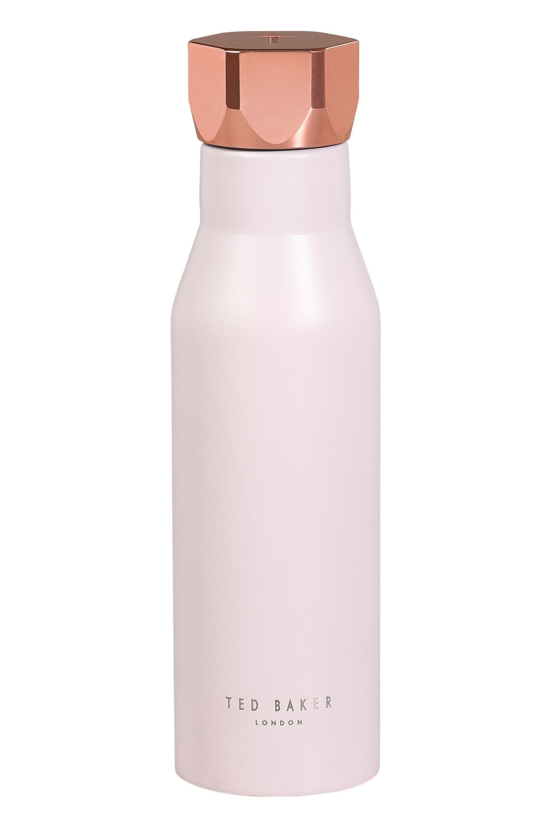 Womens Ted Baker 500ml Insulated Water Bottle Pink In