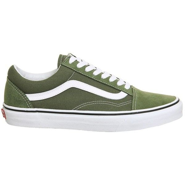 zapatos vans verdes