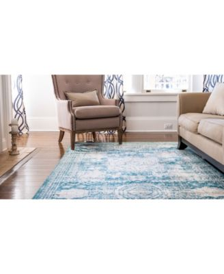 Bridgeport Home Mobley Mob2 Turquoise 4 X 6 Area Rug Reviews