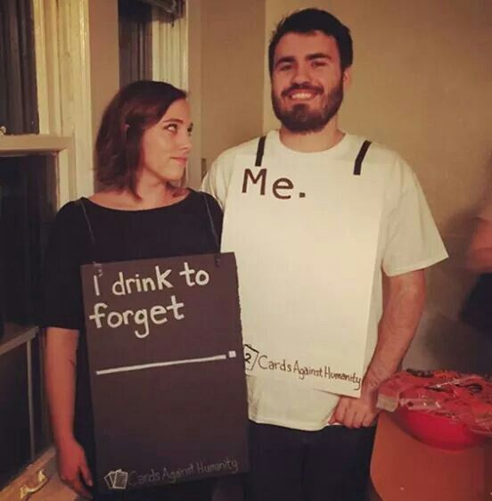 Great-couples-costumejpg (552×562) Disfraces Pinterest Couple - creative college halloween costume ideas