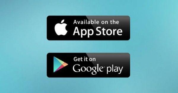 Cool Google Play & App Store Badges Set PSD Freebie. Download ...