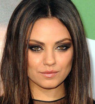 Tightlining Dramatic Wedding Makeup Dark Hair With Highlights