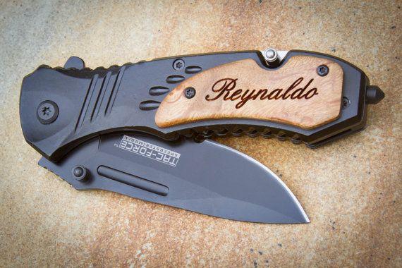 Custom Engraved Knife Tac Force Folding Knife Personalized Pocket