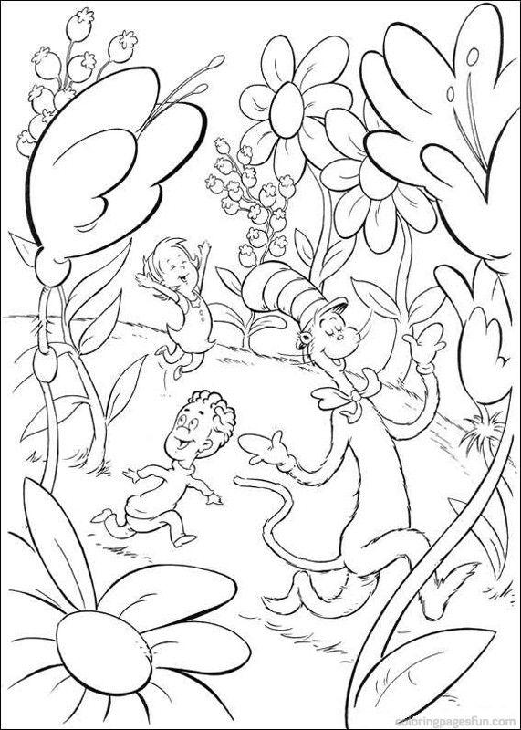 Dr Seuss Coloring Pages - GetColoringPages.com | Dr. Seuss ...