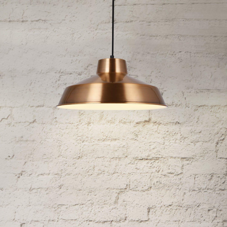 Luxpro Hngeleuchte Design Decken Lampe Kupfer Metall 35cm Pendelleuchte