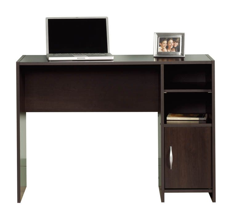 Compact Desk Cinnamon Cherry By Sauder   1 800 460 0858   Free