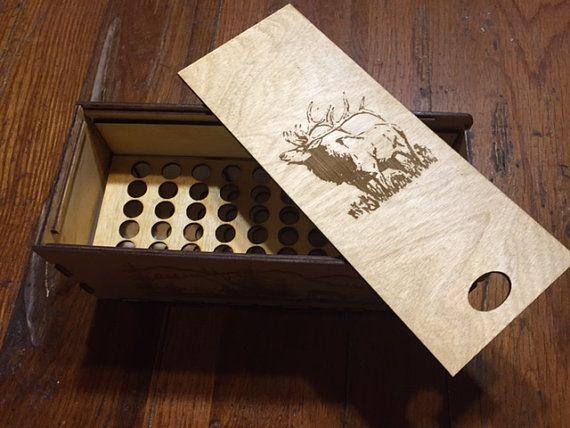 Groomsman gift engraved ammo box wooden bullet box wooden ammo box ammunition & Groomsman gift engraved ammo box wooden bullet box wooden ammo ...
