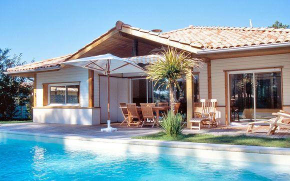 Les Villas La Prade Mobile homes Pinterest Villas and Voyage - location maison cap d agde avec piscine