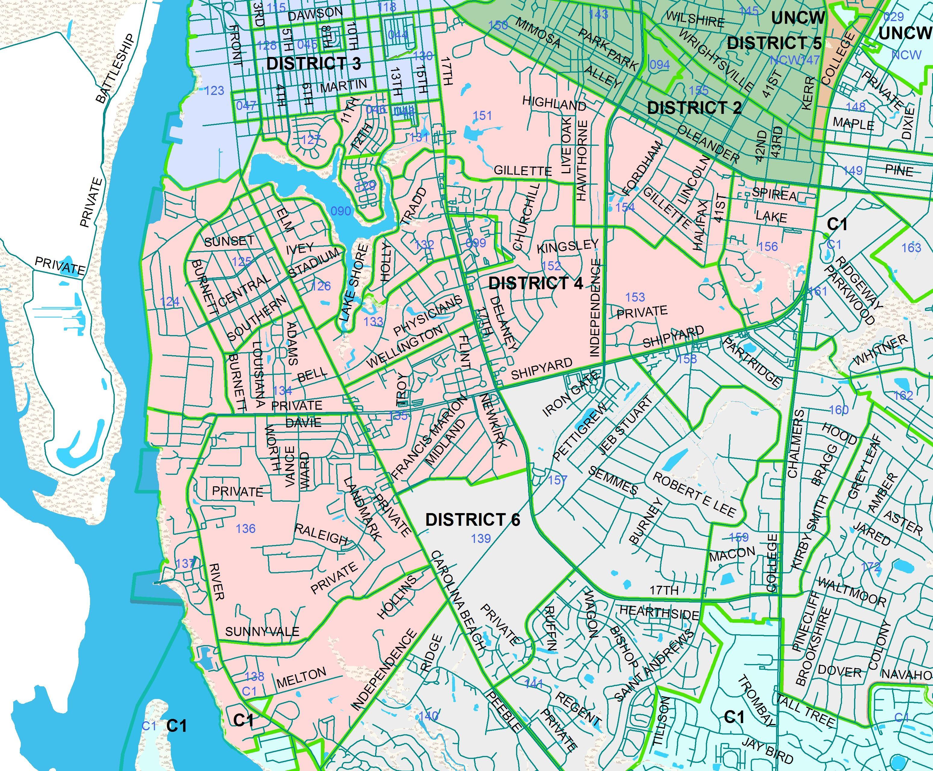 wilmington nc neighborhoods map google search