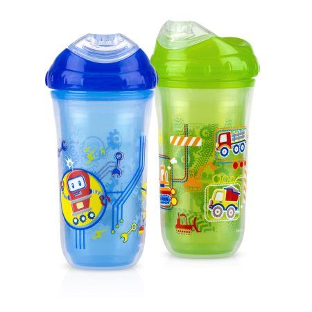 Pack of 2 Gerber Graduates Ultimate Insulated 9 oz Sippy Cup 1 ea