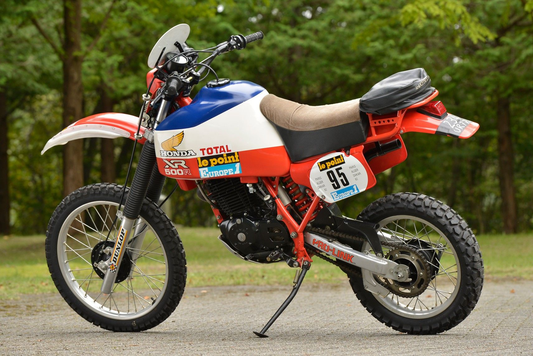 honda xl 500 r paris dakar 1982 honda thumpers honda. Black Bedroom Furniture Sets. Home Design Ideas