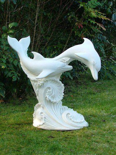 Merveilleux Garden Sculptures And Statues | Large Garden Sculptures   Leaping Dolphins  Statues : My Garden .