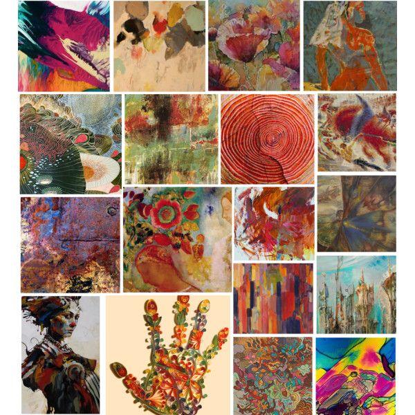 """Art backgrounds"" by vilen on Polyvore"