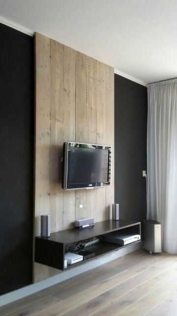 achterwand van oude steigerplanken intrieur pinterest. Black Bedroom Furniture Sets. Home Design Ideas