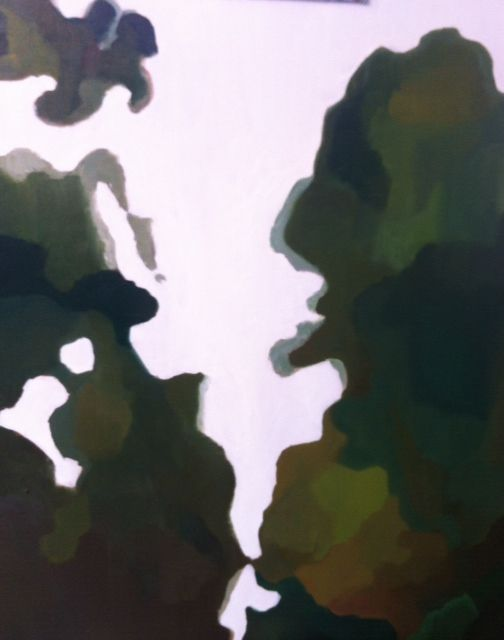 Mirando al Cielo  Oleo sobre Tela  Ultima obra