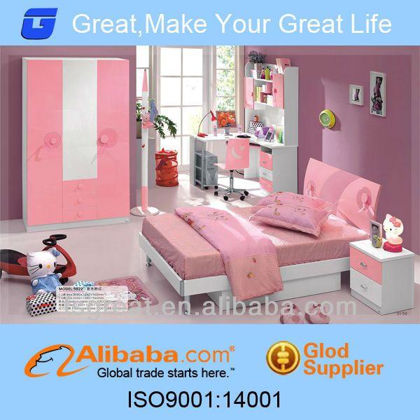Euorope Style Princess suite Pink Kids Bedroom Set/Kids Bed/Children ...