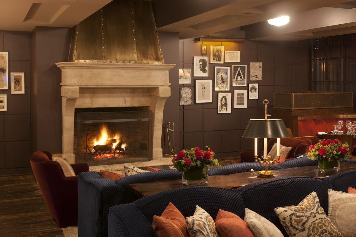 Soho House New York - Fireplace | Bars | Pinterest | Nyc, Country ...