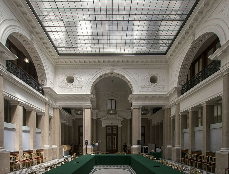 """Modern Architecture Vienna otto wagner, länderbank 1884. representative of the """"viennese"""