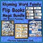 """My popular """"Rhyming Word Family Flip Books"""" are combined into one large PDF file for purchase at less than half the total price of all the Flip Boo..."""