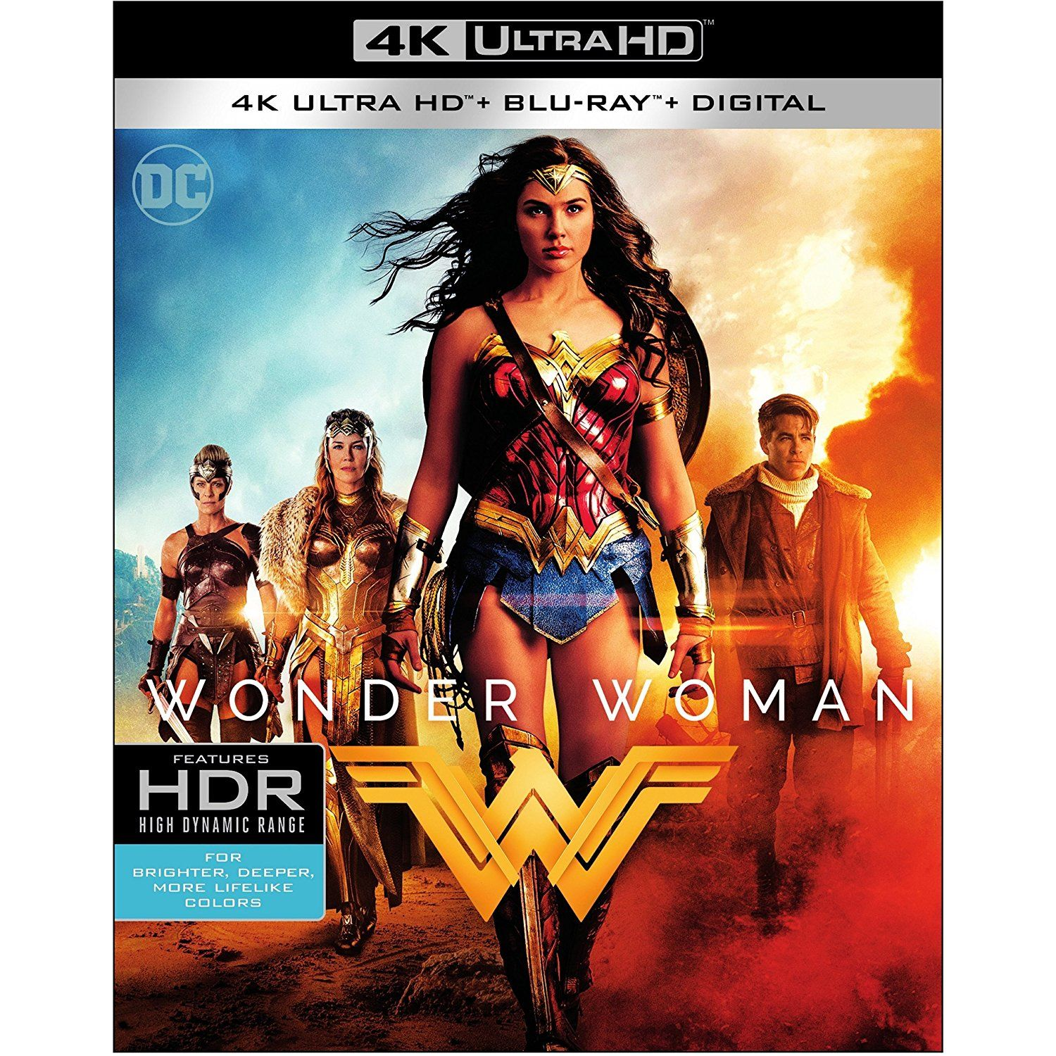 Wonder Woman 2017 Uhd Bd Blu Ray You Can Find More Details By Visiting The Image Link This Is An Affilia Wonder Woman Wonder Blu Ray Movies