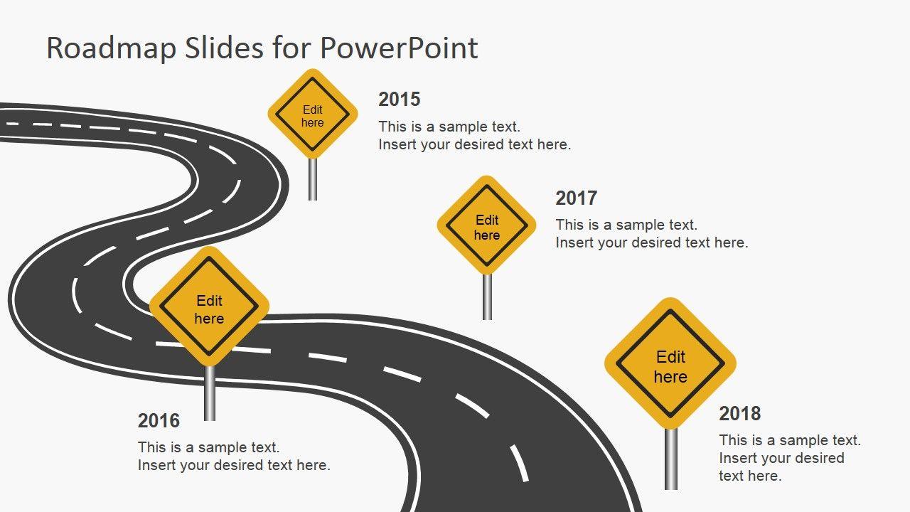 roadmap template powerpoint