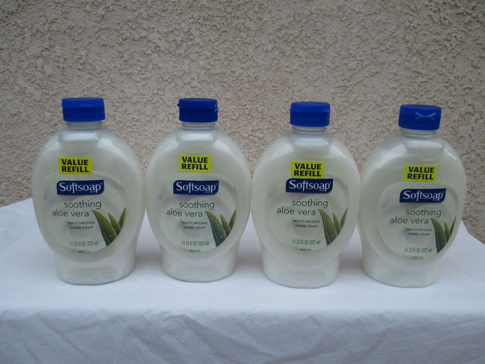 Hand Soap Softsoap Sooting Aloe Vera Value 11 25 Fl  Oz each