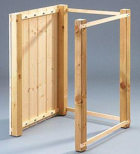 m lltonnenbox selber bauen diy i r kodzie o pinterest tonne garten und m ll. Black Bedroom Furniture Sets. Home Design Ideas
